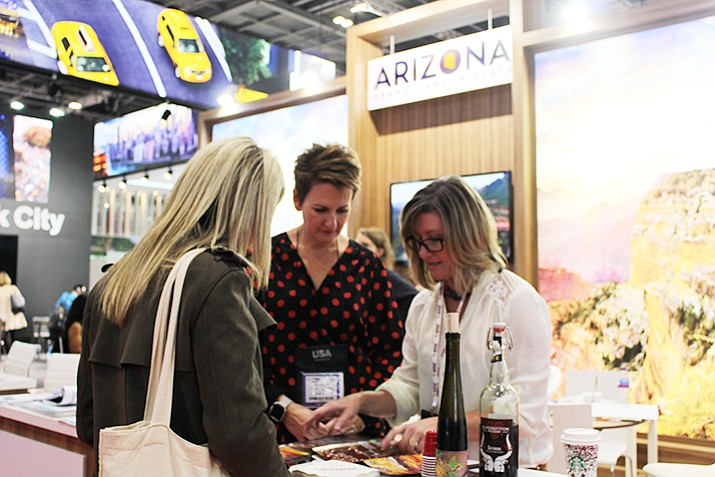 Prescott and Arizona were represented at the World Travel Market, which was Nov. 6-8 in London.