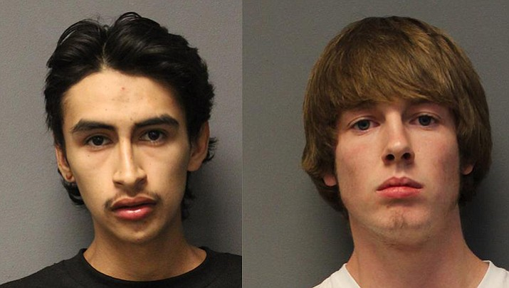 Gary Devin Amaro-Godoy (left) and Tyler Ray Sessler (right)