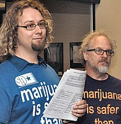 'Likely to vote' residents in no mood to reconsider legal marijuana photo