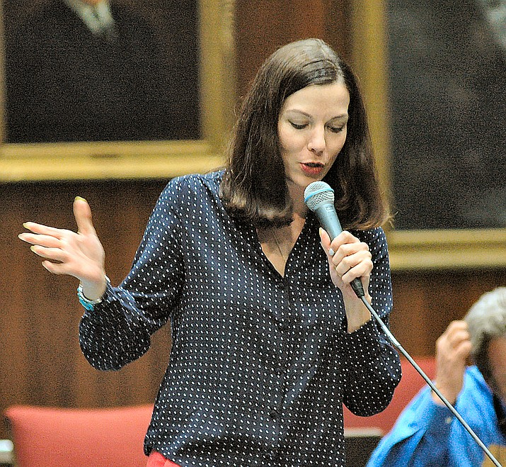 Rep. Michelle Ugenti-Rita (Capitol Media Services 2017 file photo by Howard Fischer)