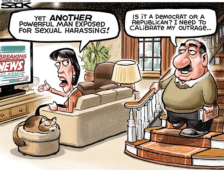 Editorial Cartoon: November 28, 2017 (1)