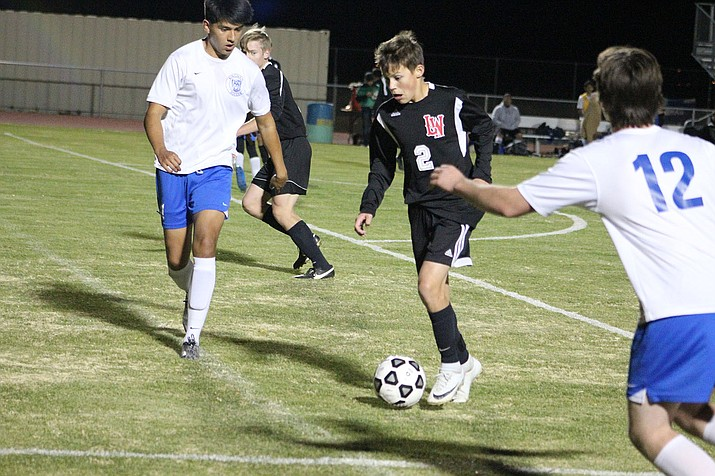 Lee Williams' Gabriel Otero tallied two assists in a 3-0 win Tuesday night over Kingman High.