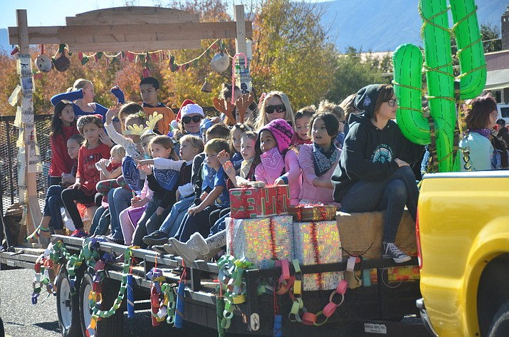 63rd Annual Christmas Parade rolls into Cottonwood Dec. 2. (VVN/File Photo)