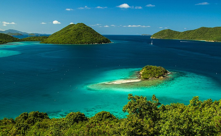 Virgin Islands National Park was heavily damaged by hurricanes Irma and Maria earlier this fall.