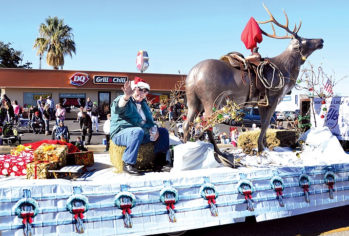 "This year's theme is ""Magical Christmas."" Watch for floats, horses, Santa, dancers, Girl Scouts, military, tractors, drum line, antique cars, and more. About 1,000 people are expected to walk or ride in the parade, which is about 2.25-miles long."