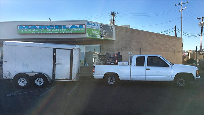 El Mirage food bank employees are asking for the public's help in locating their delivery truck (similar to this one) stolen on Thanksgiving.