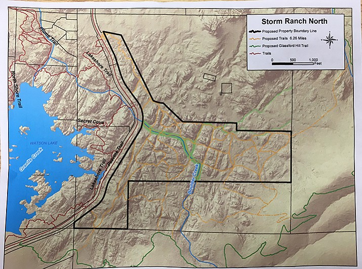 The Storm Ranch North parcel is 160 acres, which the city is purchasing for $2 million from the voter-approved open space funding. (Courtesy image)