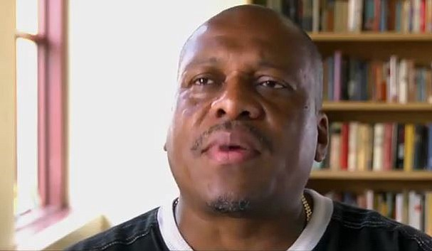 George Hill, a Marine Corps veteran, talks about his experience as a homeless veteran is this screen grab of a video from the U.S. Department of Veteran Affairs.