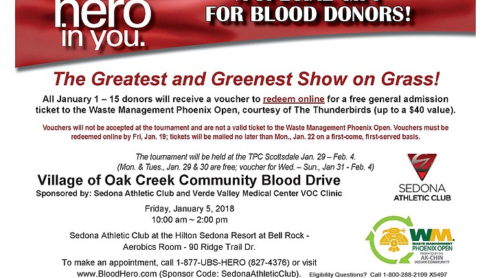 Village of Oak Creek Blood Drive