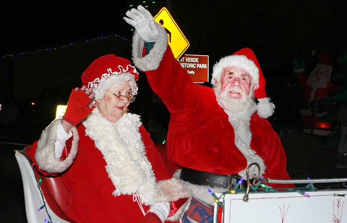 Camp Verde will celebrate a festive holiday season at 6 p.m. Saturday, Dec. 9 with its annual Parade of Lights along Main Street.