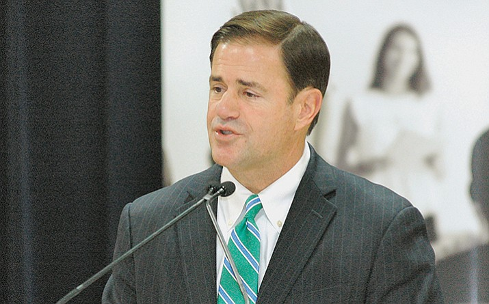 Gov. Doug Ducey wants to try again to force Medicaid recipients to work to continue to receive benefits. His first attempt was stopped by the Obama administration. (File)