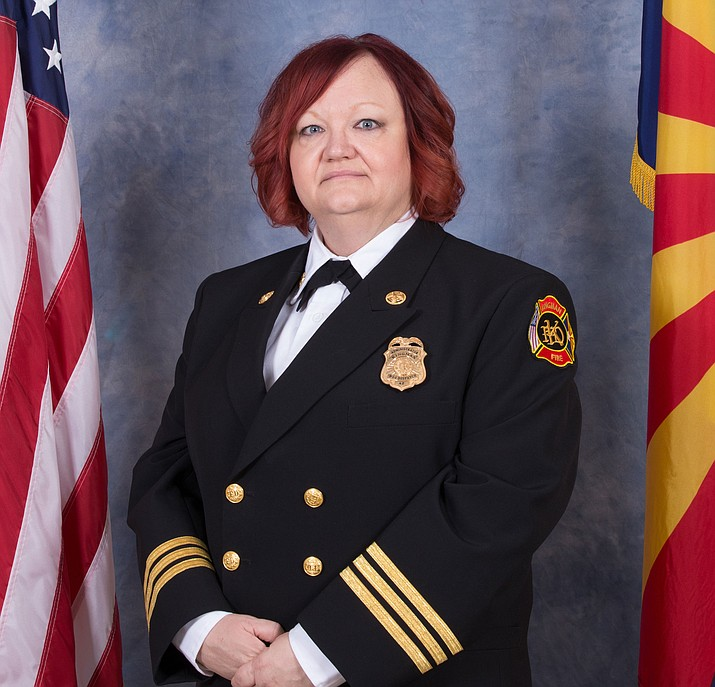 Deanne Macleod, communications manager for Kingman Fire Department.