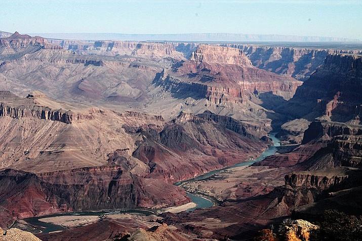 Hopi Point at the Grand Canyon.