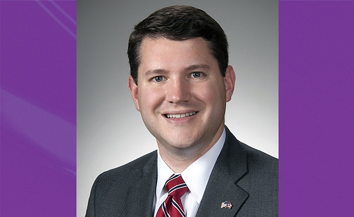 Wes Goodman resigned his position in the Ohio state house after he was caught having sex in his office with a man. (AP)