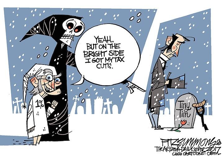 Editorial cartoon: December 5, 2017 (1)