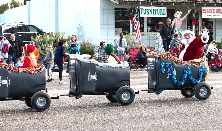"Parade organizer Colleen Gilboy said the 2017edition of the Cottonwood Christmas Parade was ""the best parade ever."" VVN Halie Chavez"
