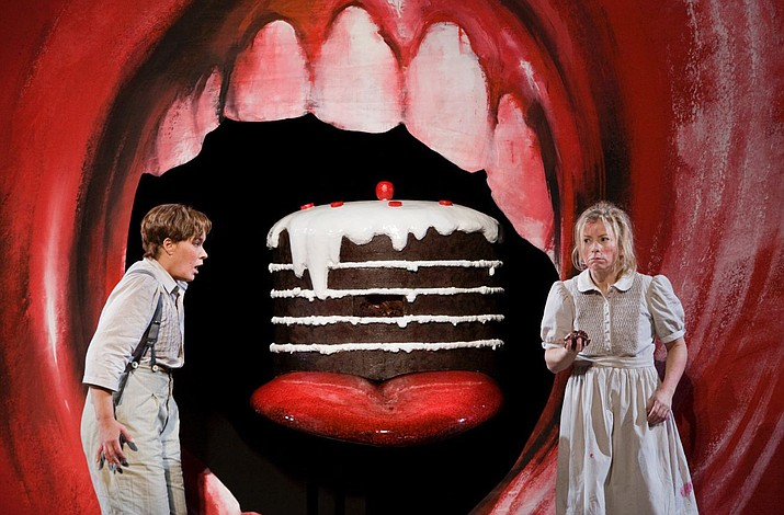 "A Met English-language holiday presentation, Richard Jones's clever production of Humperdinck's fairy-tale opera ""Hansel and Gretel"" is based on the Brothers Grimm story."