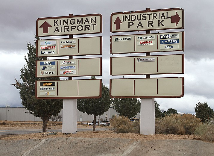 The Kingman Airport and Industrial Park's roads are now to be maintained by the county as part of their regular road maintenance system. (The Daily Miner File Photo)