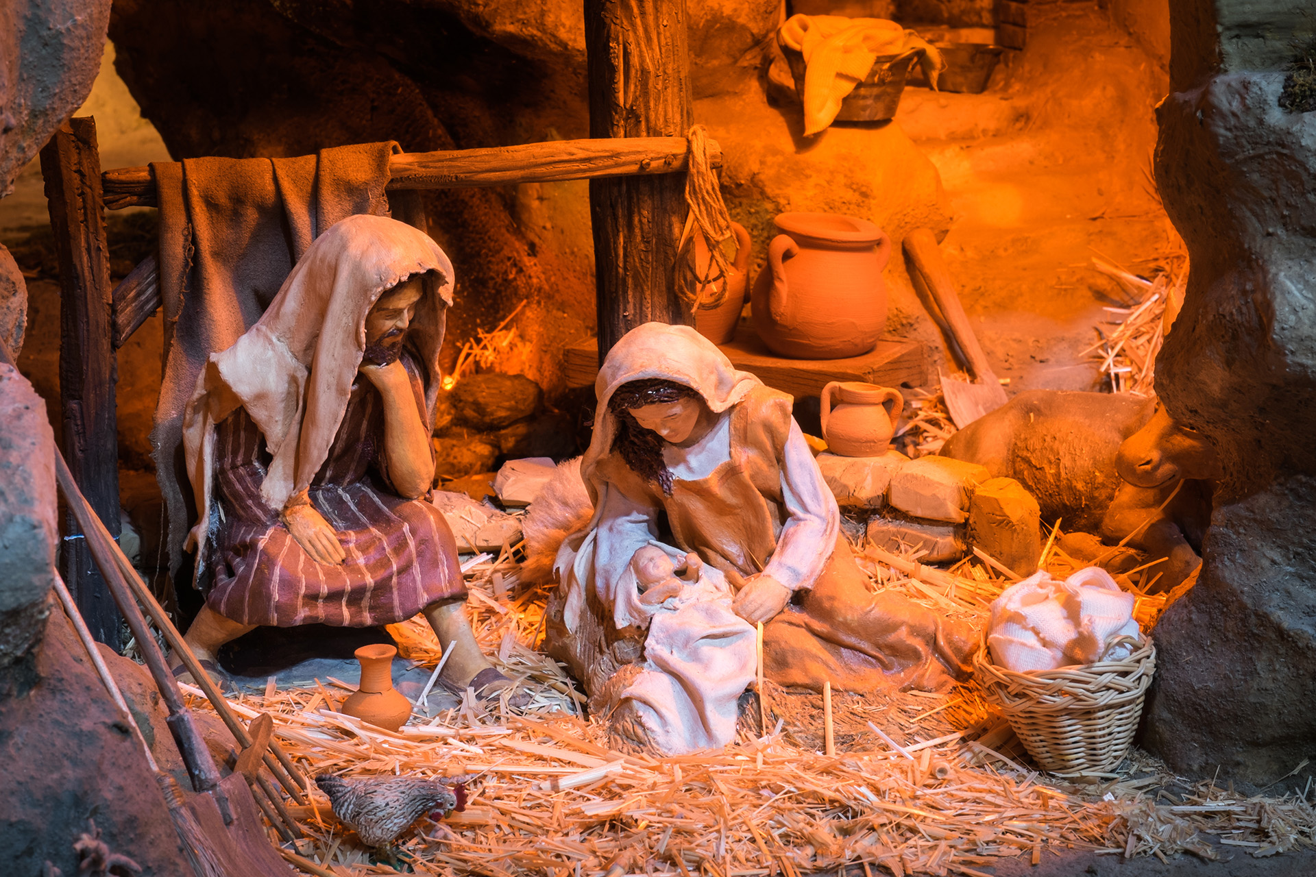 It's just a photo of Modest Nativity Christmas Images