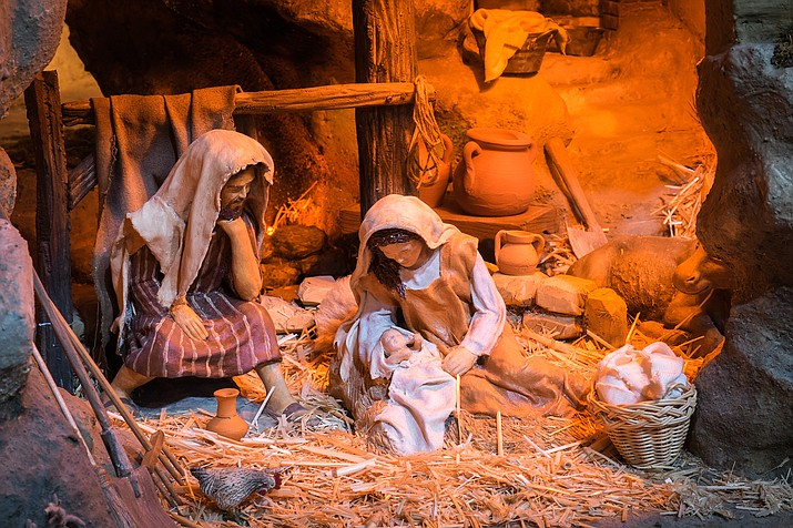 Doors open at 5:45 p.m. on Dec. 10 to view nativity sets from around the world. The live concert begins at 7 p.m and will feature traditional music celebrating the birth of Jesus Christ. Refreshments will be served after the program.