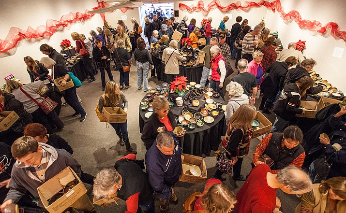 Sedona Arts Center presents its annual Loving Bowls charity fundraiser on Dec. 9 from noon to 3 p.m. at the Historic Art Barn in Uptown Sedona. (Photo courtesy of Kelli Klymenko)