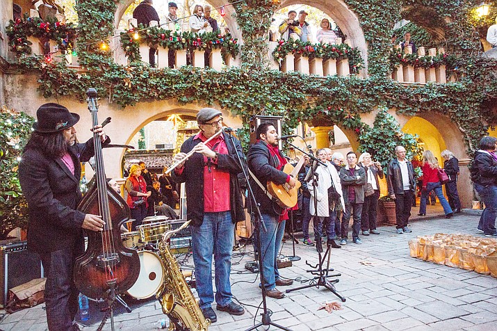 Tlaquepaque favorite Andres Y Los Guapos (formerly Ritmo Latino) is amongst the fabulous musical entertainment line-up. (Photo courtesy of Wib Middleton)