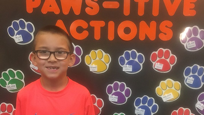 CVUSD Student of the Week: Izaiah