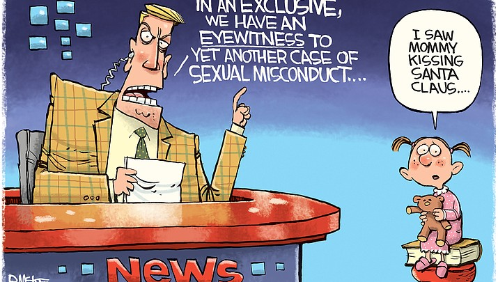 Editorial cartoon 1: Dec. 6, 2017