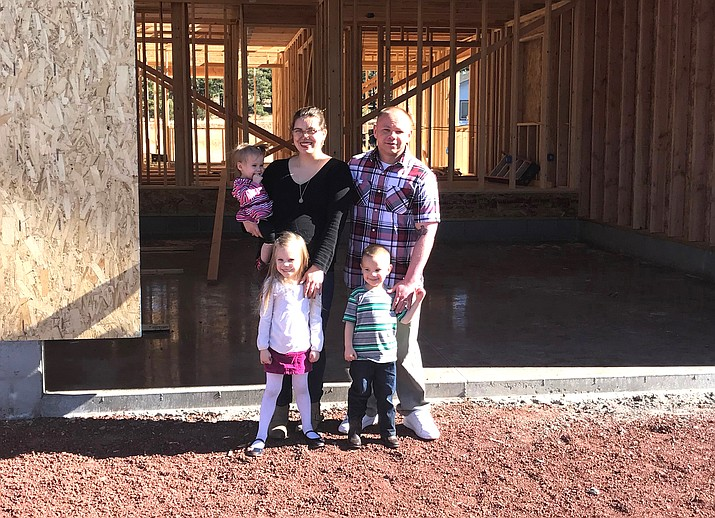 A wall raising to celebrate the construction of a new home for the Richards family will take place Dec. 9.