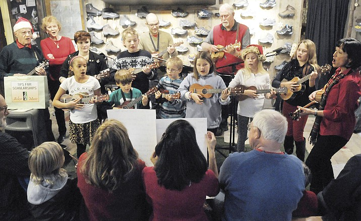Acker Night is Friday, Dec. 8 in downtown Prescott from 5:30 to 8:30 p.m., with the opening ceremony at 5 p.m. Nearly 130 businesses will showcase more than 140 music groups. (Courier File Photo)