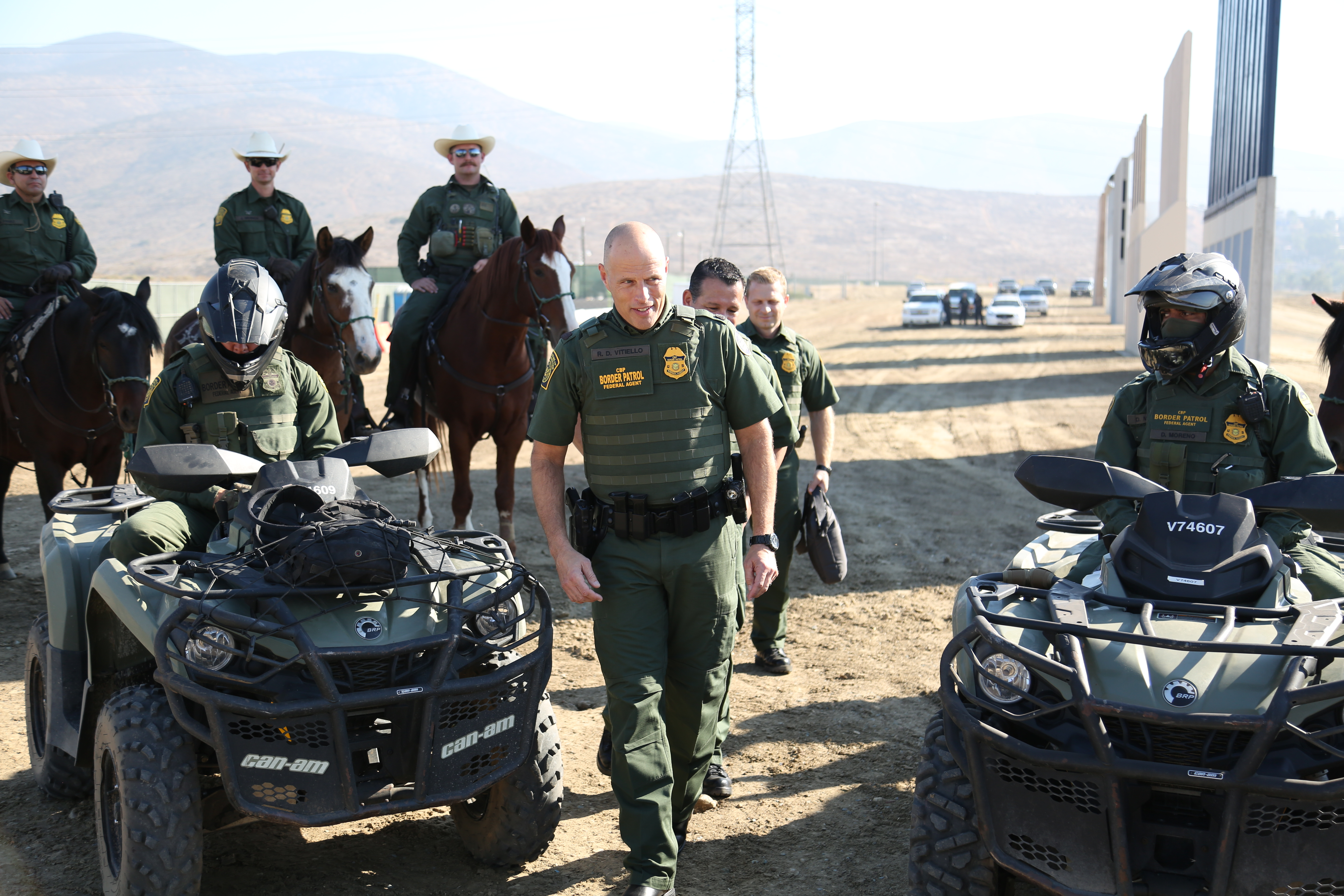 border patrol in arizona Border patrol makes three large drug seizures - tucson, az - three separate stops uncovered pounds of pot, pounds of meth, and pounds of cocaine.