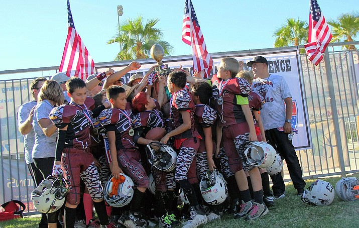 The Kingman Rebels are one of eight teams in the country and the only Arizona squad to play in the Game for Life Championship in Canton, Ohio.