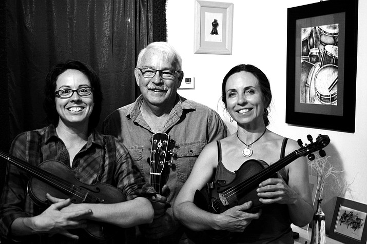 December's contra dance will take place at the Clarkdale Memorial Clubhouse (auditorium,) 19 N. 9th St. (9th and Main) on Saturday, Dec. 16 at 6:30 p.m.