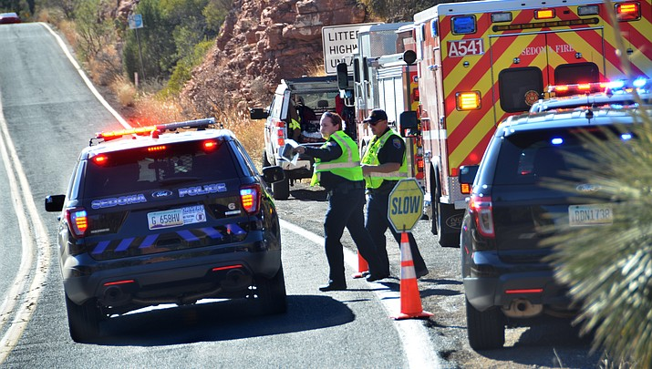 Deceased person found in Oak Creek Canyon