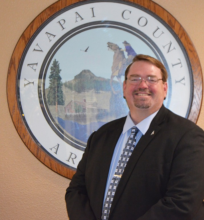 Dec. 6 the Yavapai County Board of Supervisors appointed David C. Williams as the new Yavapai County Development Services Director. (Photo courtesy of Yavapai County)