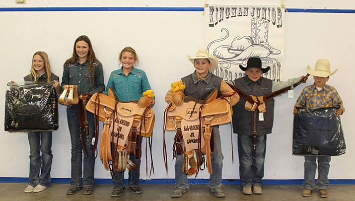 Junior Rodeo year end winners