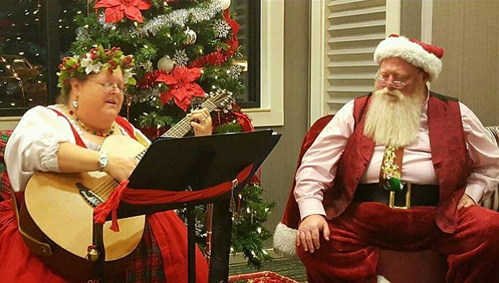 People & Places: Singing Santa brings joy to Chino Valley Library