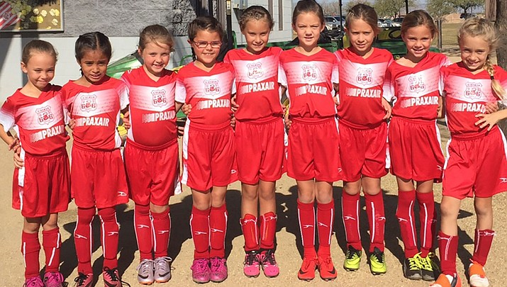 Kingman Soccer Club finds success at Christmas Angel Tourney