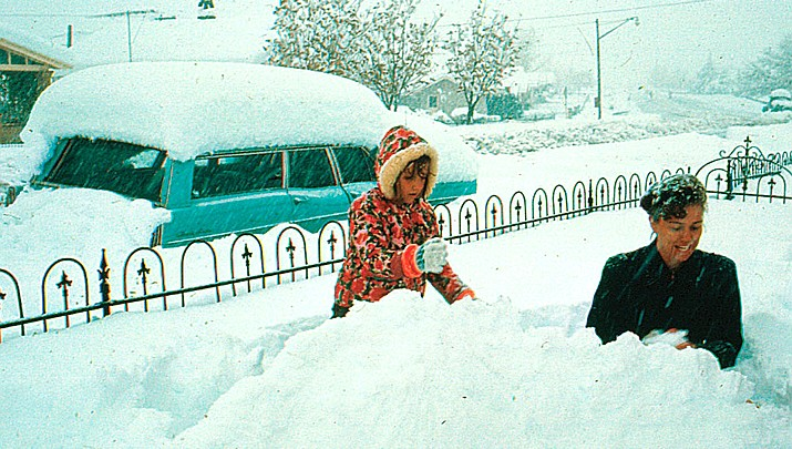 50 YEARS AGO TODAY The Verde Valley woke up to the biggest snow storm in Arizona history