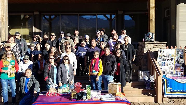 Piestewa family hosts Navajo Hopi Honor Riders for holiday party