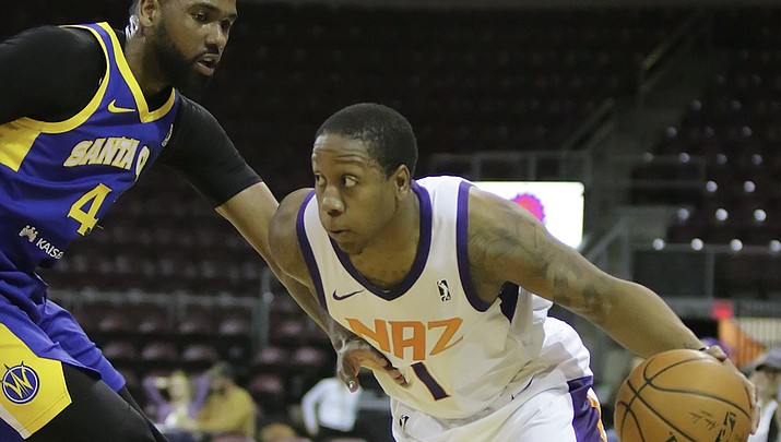 NAZ Suns nearly set point margin league record, rout Warriors 138-94