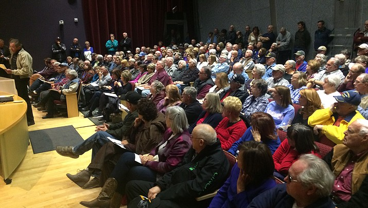 Big crowd turns out for Viewpoint discussion