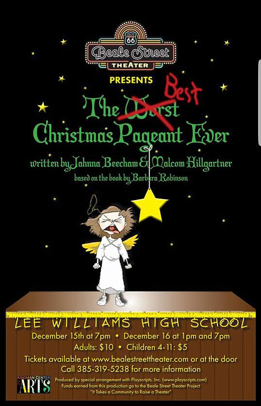 beale street theatre presents the best christmas pageant ever the musical - The Best Christmas Pageant Ever Book