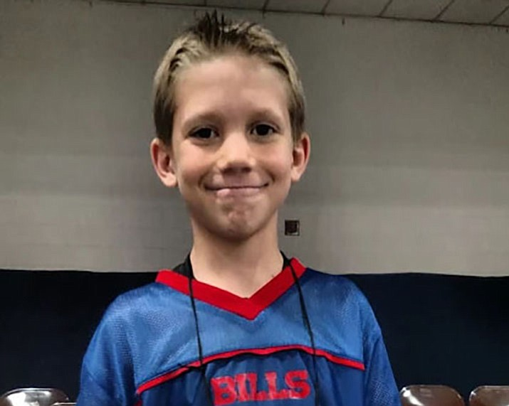 Abia Judd Elementary School held its spelling bee on Dec. 7 and Donald Hatfield was the first place winner. He advances to the Yavapai County Spelling Bee in February. (Courtesy)