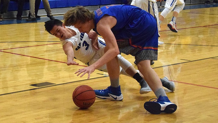 Camp Verde boys hoops pulls away from Chino Valley