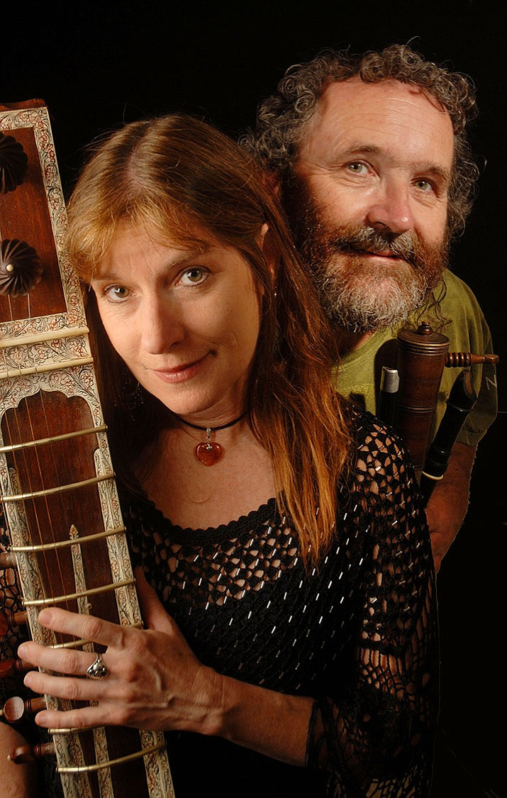 Four Shillings Short, husband and wife, Aodh Og O'Tuama from Cork, Ireland, and Christy Martin from California, have been performing together since 1995.