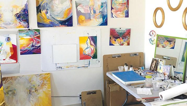 ArtHub hosting open house showcasing resident artists' work