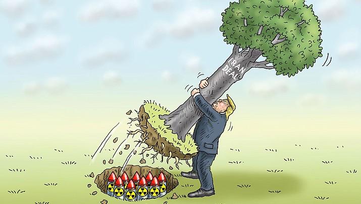 Editorial Cartoon   December 15, 2017