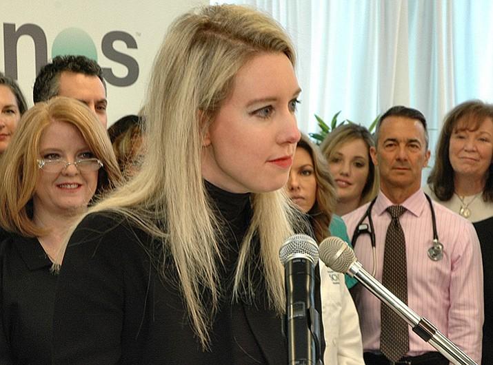 Theranos Laboratories founder and CEO Elizabeth Holmes.