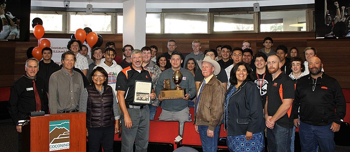 Coconino County Supervisors invite the Williams Vikings 1A State football championship team to Flagstaff declaring Dec. 5 'Williams Vikings Day.